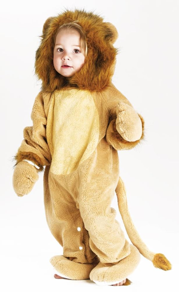 Fuzzy Tail Lion Costume Baby