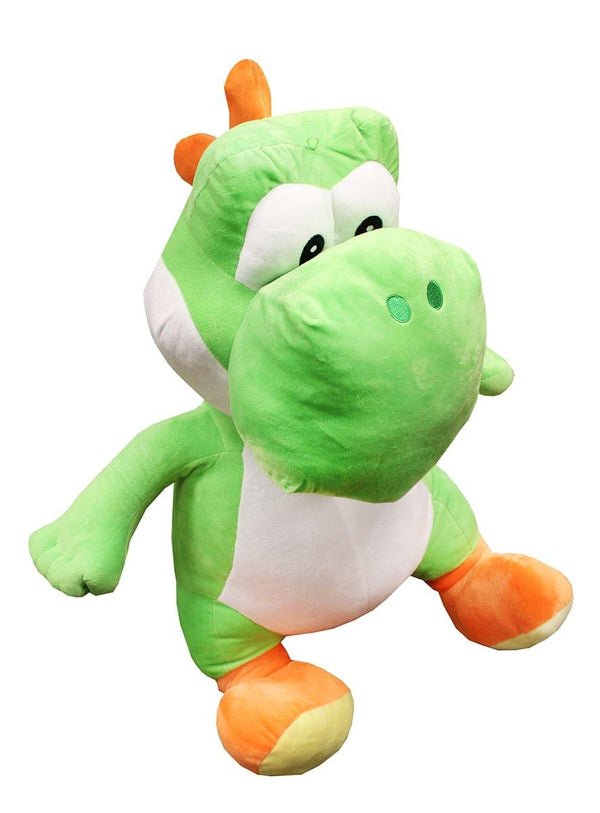 "Nintendo Super Mario Bros 35"" Super Large Green Yoshi Plush"