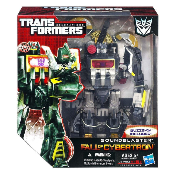 Transformers Generations Fall Of Cybertron Sound Blaster & Buzzsaw