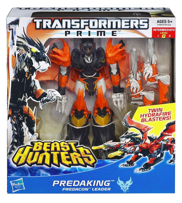 Transformers Prime Voyager Class Beast Hunter Predaking Figure