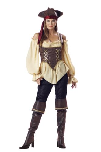 Rustic Pirate Lady Adult Costume Medium