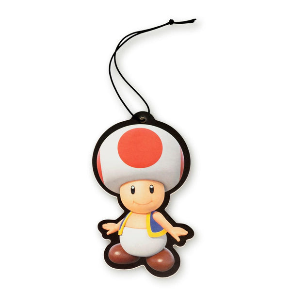 Super Mario Bros. Toad Character Air Freshener, Strawberry Scent