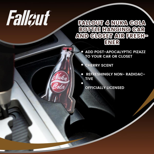 Fallout 4 Nuka Cola Bottle Hanging Car and Closet Air Freshener