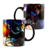 Bleach Foil Print Mug | Coffee and Tea | Black Luster Coffee Mug