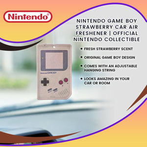 Nintendo Game Boy Strawberry Car Air Freshener