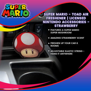 Super Mario - Toad Air Freshener
