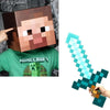 "Minecraft 12"" Steve Head & Sword Costume Kit"