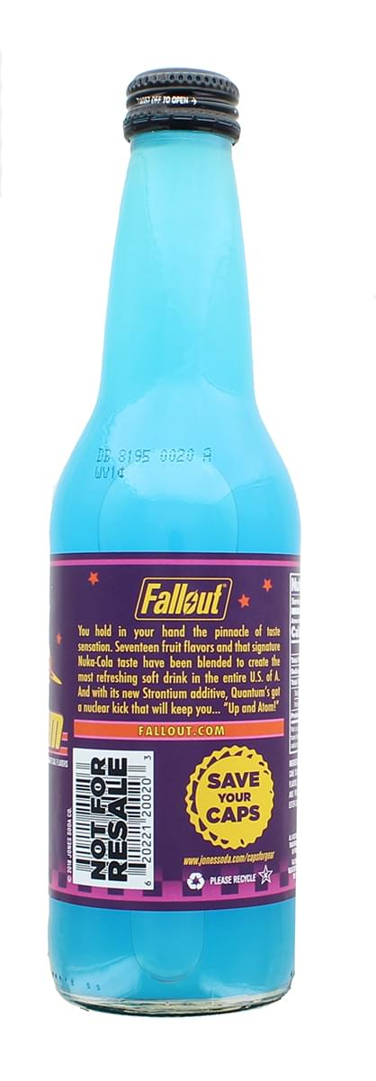 Fallout 4 Nuka-Cola Quantum Soda by Jones Soda – 12oz Berry Flavored Drink