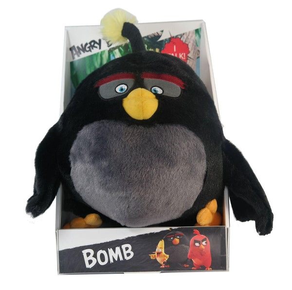"Angry Birds Movie 11"" Talking Plush: Bomb"