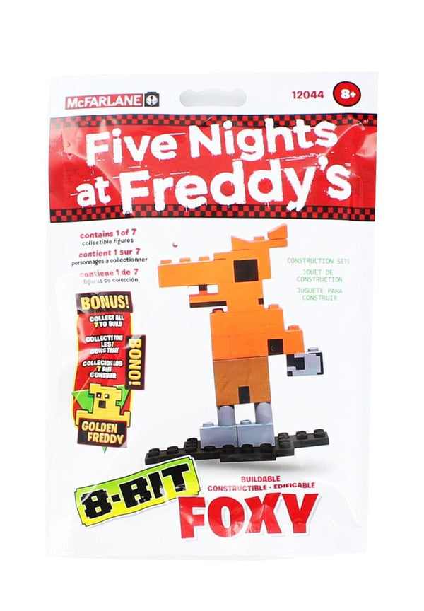 Five Nights at Freddy's 8-Bit Buildable Figure Bundle: Bonnie, Chica, Foxy