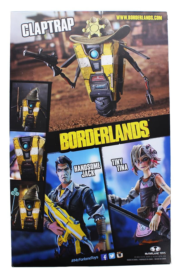 "Borderlands 4.5"" Claptrap Deluxe Action Figure"