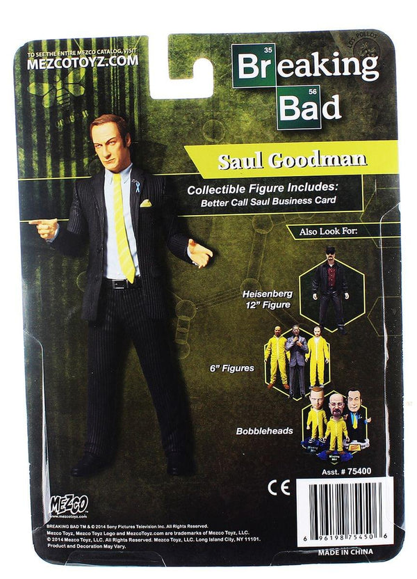 "Breaking Bad 6"" Action Figure: Saul Goodman (Previews Exclusive)"