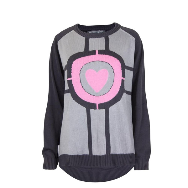 Portal Companion Cube Sweater Large