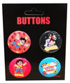 Steven Universe Carded Button 4-Pack