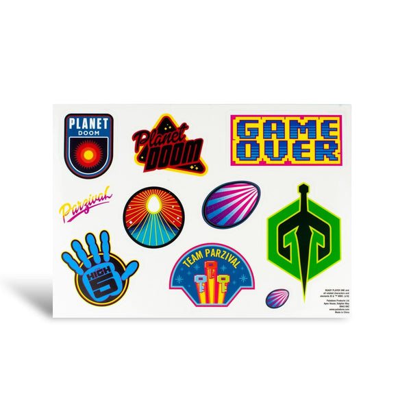 Ready Player One Vinyl Gadget Decal Sticker Pack