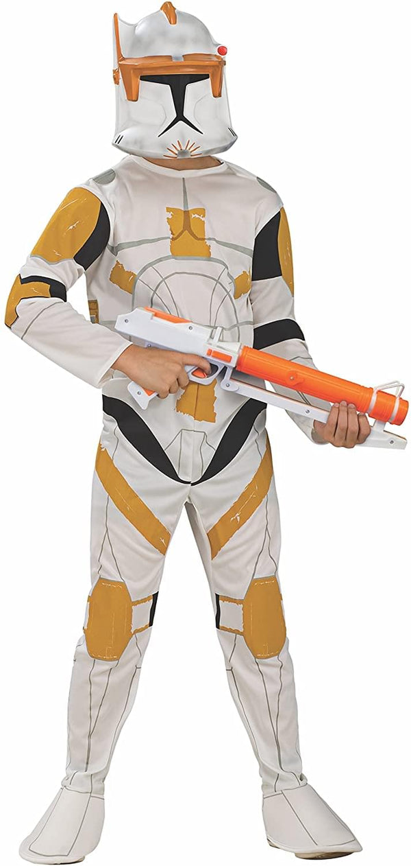 Star Wars Animated Clonetrooper Commander Cody Child Costume