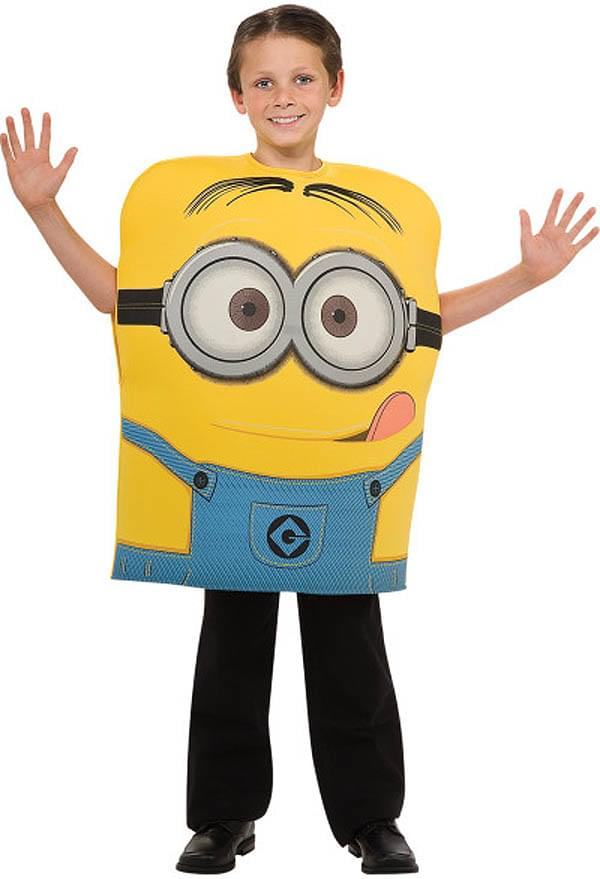 Despicable Me 2 Minion Dave Foam Costume Child Small