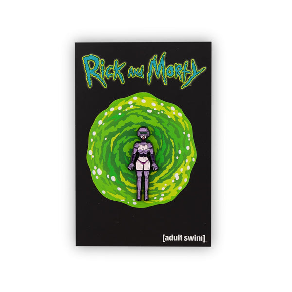 Rick and Morty Collector's Enamel Pin, Gwendolyn the Robot