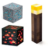 Minecraft Light Up Torch, Redstone & Diamond Ores Set Of 3