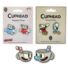 Cuphead And Mugman Collectors Pin Set Includes 6 Items With Exclusive Pins