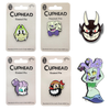 Cuphead Bosses Pins With Exclusive Pin, Set Of 6