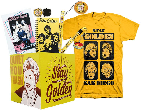Golden Girls LookSee Collector's Box with Shirt