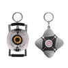 Portal Plush Keychain Set of 2: Companion Cube & Space Sphere