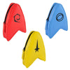 Star Trek The Original Series Delta Coin Pouch Gift Set: Gold, Blue & Red