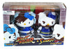 Hello Kitty Street Fighter 2 Figure Pack ChunLi & Zangief