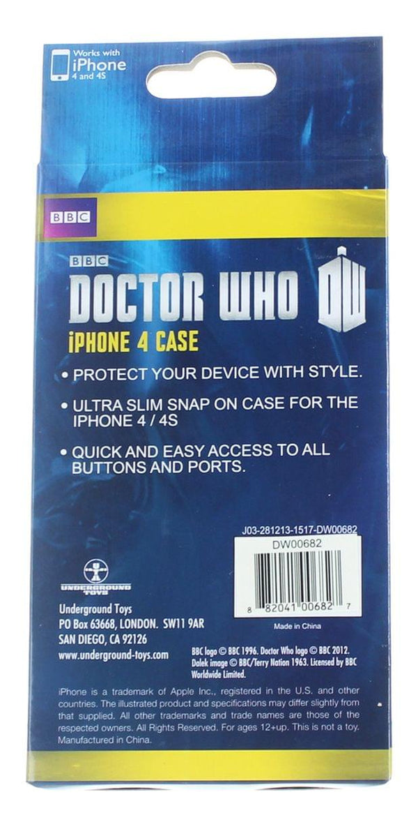 Doctor Who iPhone 4 Hard Snap Case Bad Wolf