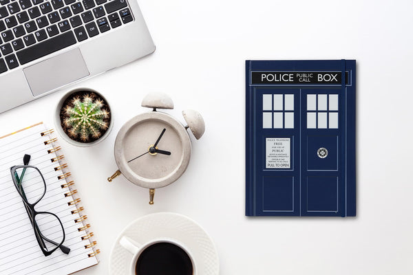 Doctor Who TARDIS Standard Notebook