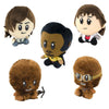 "Star Wars 4"" Super Bitz Plush Set of 5: Solo, Chewie, Athena, & Lando"