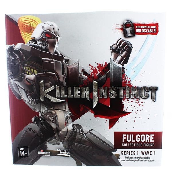 "Killer Instinct Series 1 6"" Collectible Figure: Fulgore"