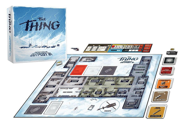 The Thing Infection At Outpost 31 Strategy Game