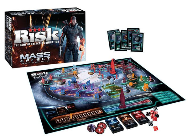 Risk Mass Effect Galaxy At War Game Of Galactic Domination Edition Boardgame