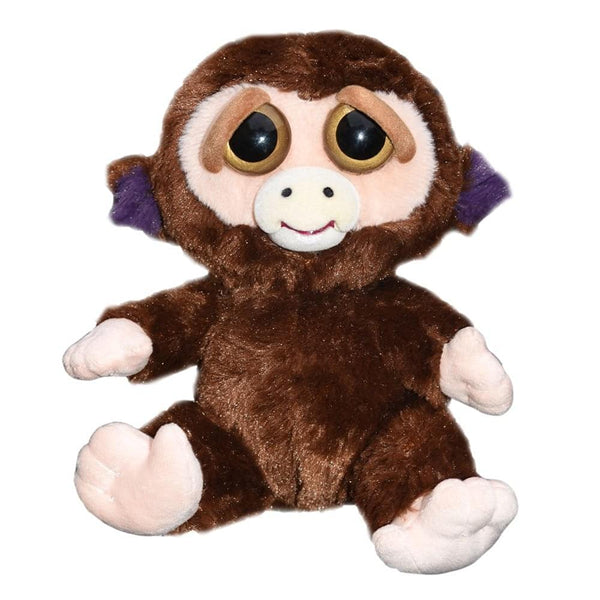 "Feisty Pets 8"" Mixed Emotions Plush Bundle: Grandmaster Funk the Monkey x2"