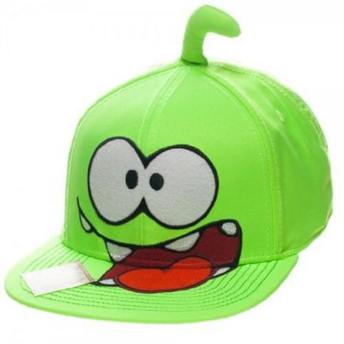 Cut The Rope Om Nom Big Face Snap Back Hat