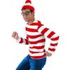 Where's Waldo Adult Costume Kit:  Small/Medium