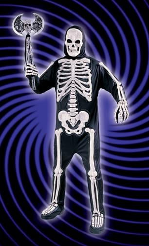 Totally Skelebones Costume Adult Standard