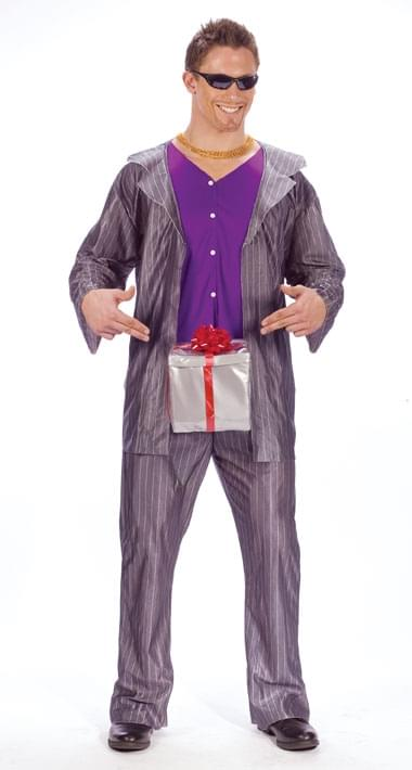 Dick In A Box Adult Costume Kit, Standard