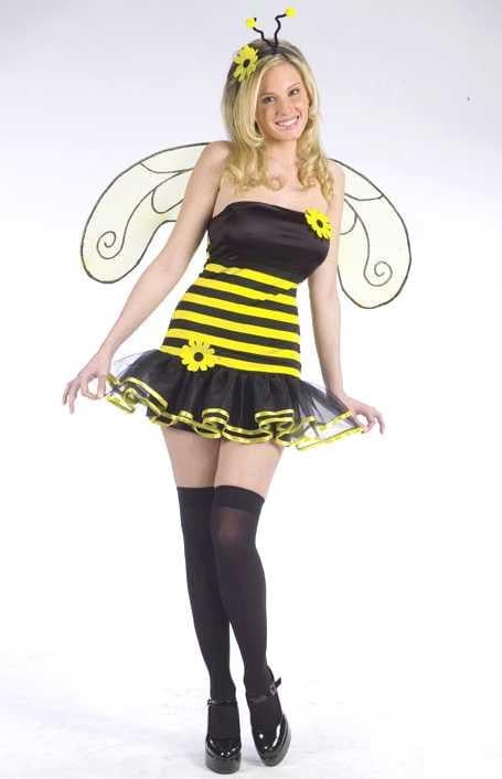 Sexy Honey Bee Costume Adult Medium/Large