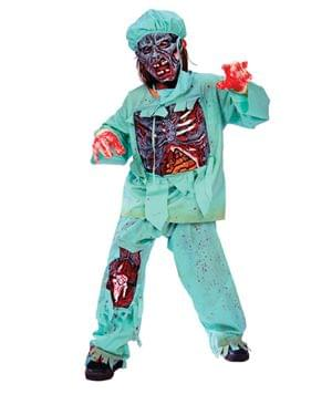 Zombie Doctor Child Costume Large