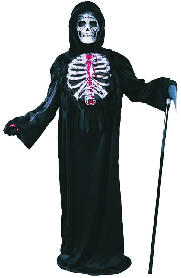 Bleeding Skeleton Costume Child Medium