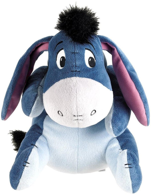 "Winnie The Pooh Classic Edition Eeyore Posable 10"" Plush With Sound"
