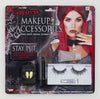 Gothic Vampiress Costume Make Up & Accessories Kit