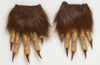Werewolf Hairy Latex Claw Hands Costume Accessory