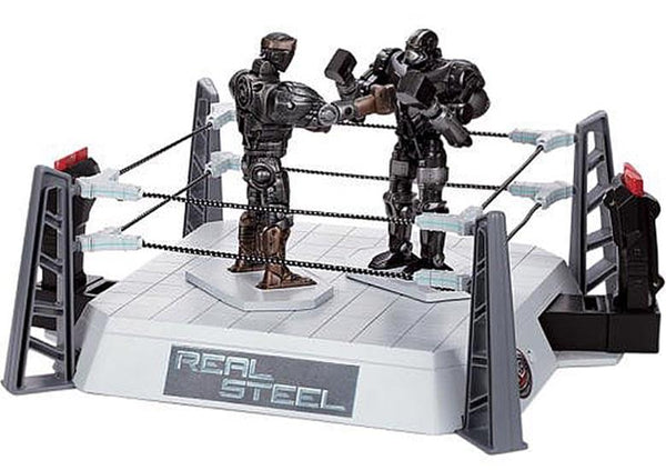 Real Steel WRB Battle Champions Fighting Figures & Ring