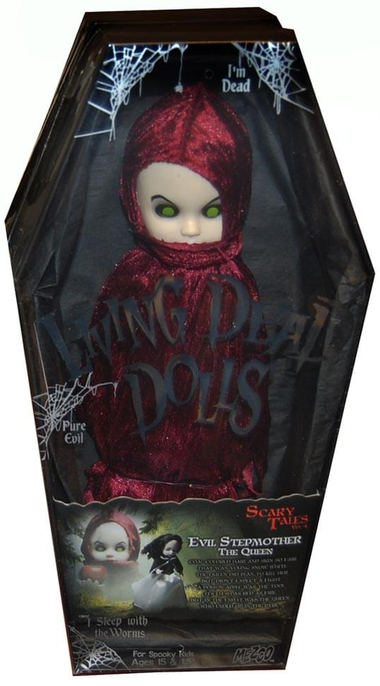 Living Dead Dolls Scary Tales #4 Snow White: Evil Stepmother The Queen