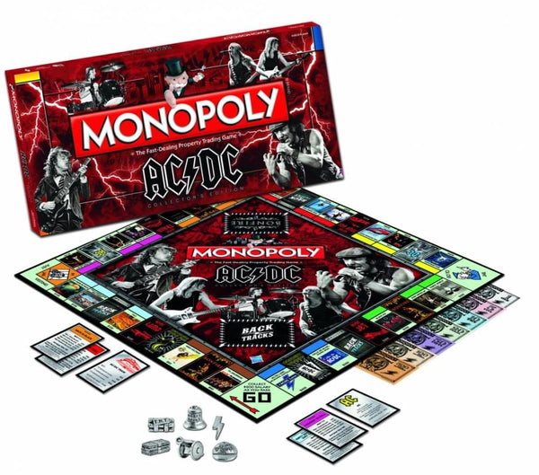 Monopoly AC/DC Boardgame