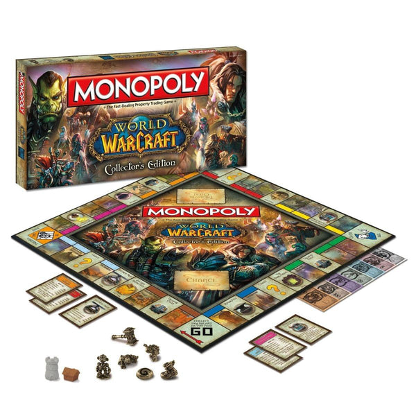 Monopoly World Of Warcraft Collectors Edition